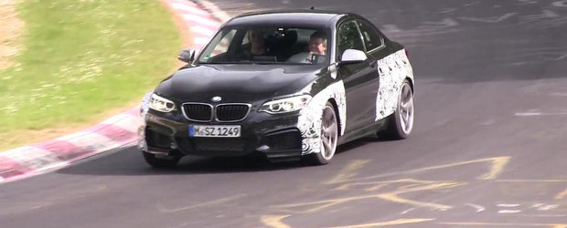 Noul BMW M2 Coupe, surprins pentru prima oara in actiune!