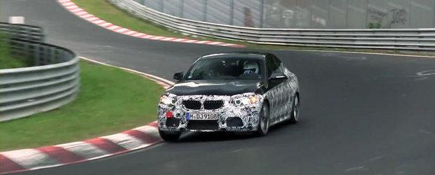 Noul BMW M235i Coupe isi testeaza limitele la Nurburgring