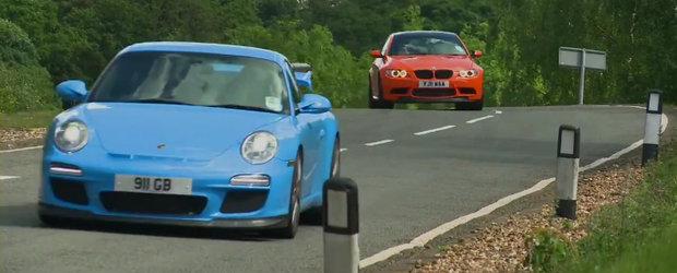 Noul BMW M3 GTS si Porsche 911 GT3 RS lupta pentru suprematie