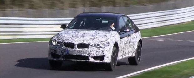 Noul BMW M3 se dezlantuie pe circuitul de la Nurburgring