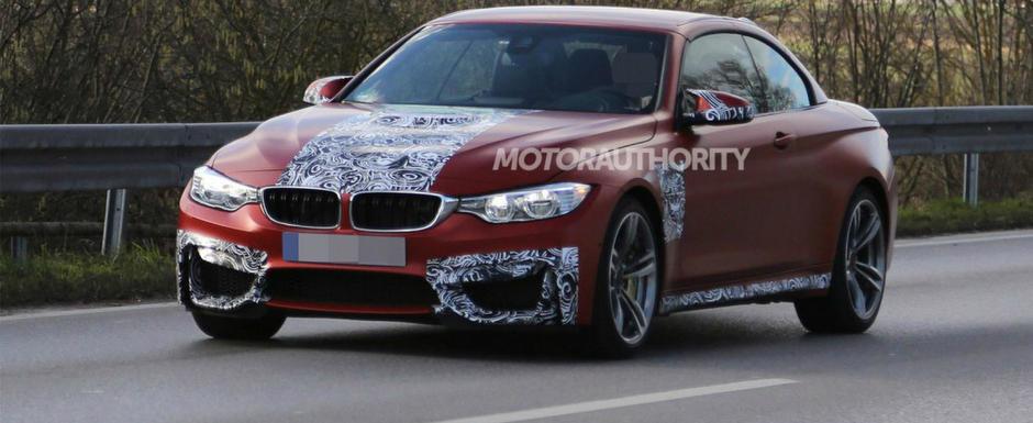 Noul BMW M4 Convertible debuteaza luna viitoare