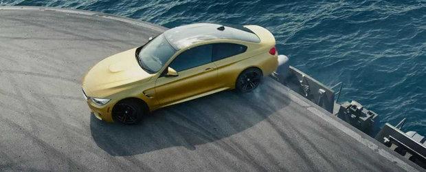 Noul BMW M4 Coupe, portavionul si drifturile