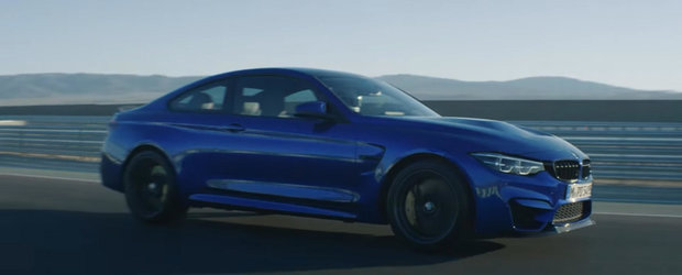 Noul BMW M4 CS debuteaza in primul video oficial
