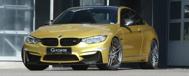 Noul BMW M4 revine in atelierul G-Power pentru si mai multa putere