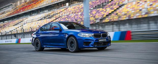 Noul BMW M5 a doborat primul sau record de circuit. A fost cu 5 secunde mai rapid decat vechiul rezultat