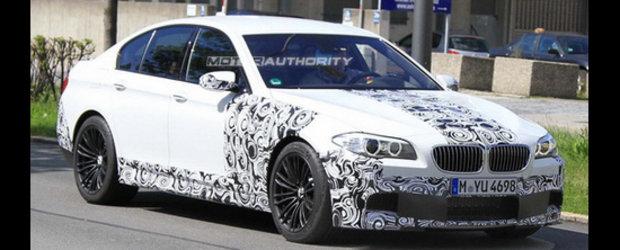 Noul BMW M5, surprins din nou in teste!