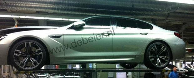 Noul BMW M6 Gran Coupe ni se prezinta in prima fotografie reala