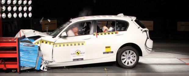 Noul BMW Seria 1 a primit 5 stele la testele Euro NCAP