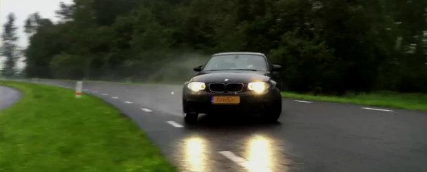 Noul BMW Seria 1 M Coupe ne ofera o portie serioasa de drifturi!