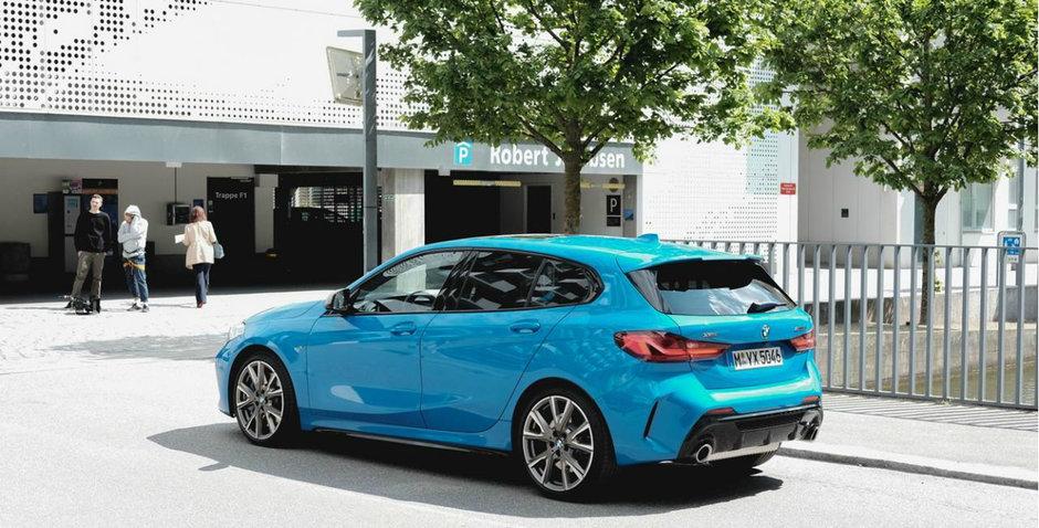 Noul BMW Seria 1 pe strazi