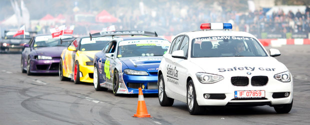 Noul BMW Seria 1 - Safety Car la Drift Grand Prix of Romania