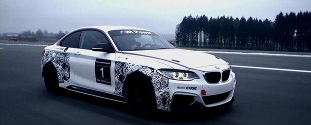 Noul BMW Seria 2 Coupe isi anunta debutul pe scena sporturilor cu motor