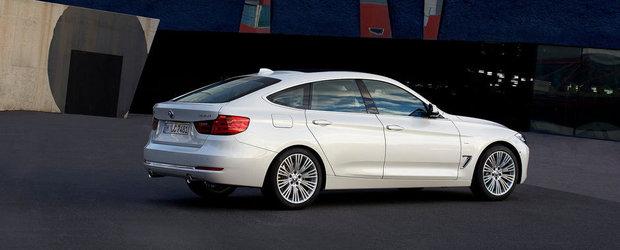 Noul BMW Seria 3 GT, de la 36.000 de euro in Romania
