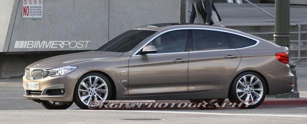 Noul BMW Seria 3 GT, surprins complet necamuflat!