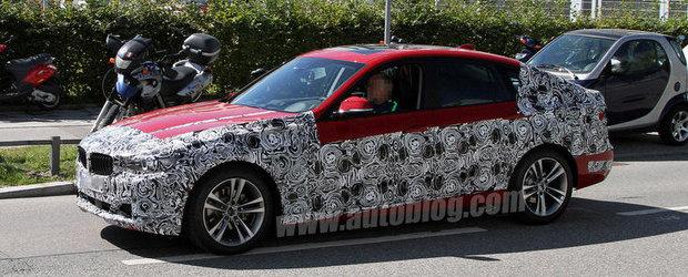 Noul BMW Seria 3 GT, surprins in cele mai clare imagini de pana acum