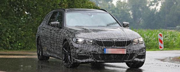 Noul BMW Seria 3, in cele mai clare imagini de pana acum. Intra in scena versiunea cu cinci portiere