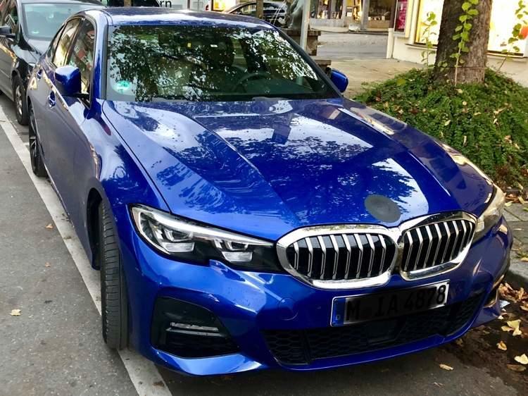 Noul BMW Seria 3 pe strazi - Noul BMW Seria 3 pe strazi