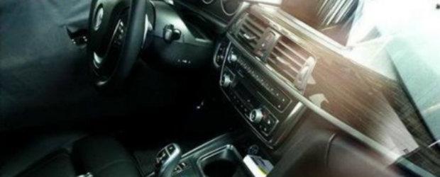 Noul BMW Seria 3 - Primele imagini cu interiorul!