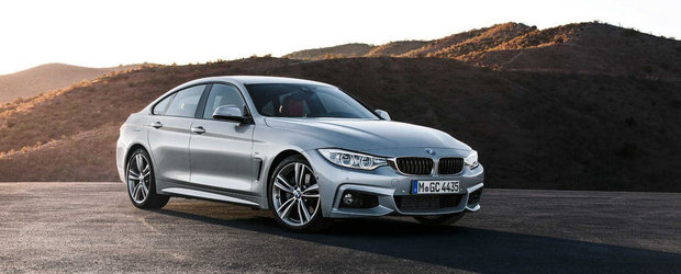 Noul BMW Seria 4 Gran Coupe. GALERIE FOTO si VIDEO