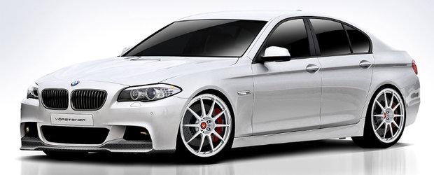 Noul BMW Seria 5 by Vorsteiner dezlantuie pasiunea pentru tuning