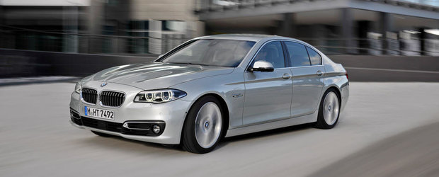 Noul BMW Seria 5, de la 43.000 de euro in Romania
