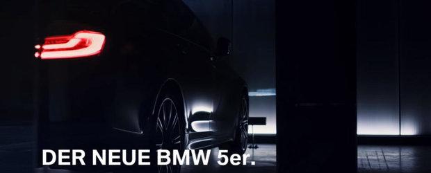 Noul BMW Seria 5 este aici. Bavarezii au lansat primul filmulet oficial cu modelul care va fi prezentat la Paris