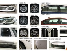 Noul BMW Seria 5 Facelift - Poze noi