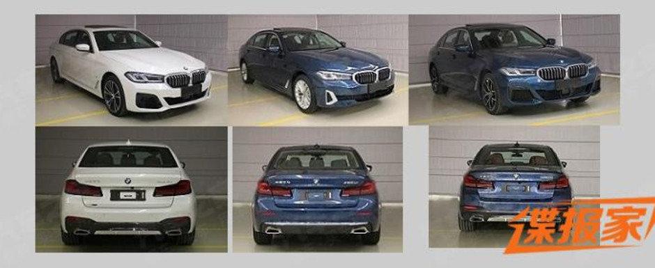 Noul BMW Seria 5, in cele mai detaliate imagini de pana acum. Cum arata fiecare versiune in parte si ce dotari are masina bavareza