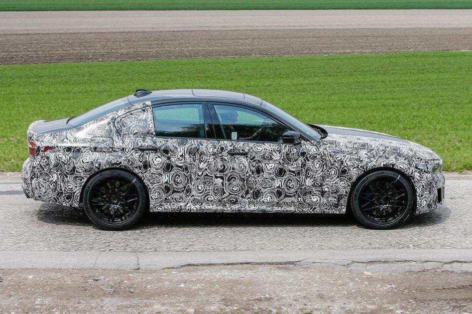 Noul BMW Seria 5 - Poze Spion