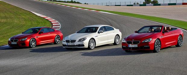 Noul BMW Seria 6 Facelift ne provoaca la joaca de-a 'Ghiceste diferentele!'
