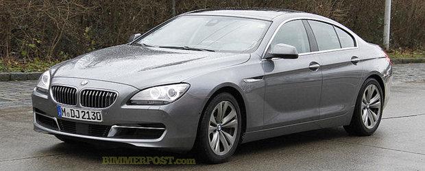 Noul BMW Seria 6 Gran Coupe isi face aparitia in primele imagini reale