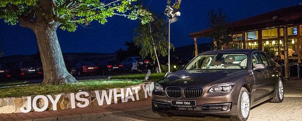 Noul BMW Seria 7 a debutat in Romania la Cupa de Cristal 2012