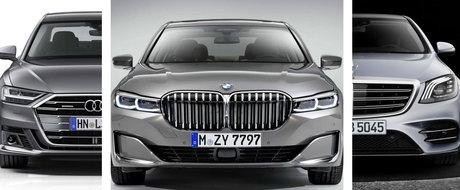Noul BMW Seria 7, Audi A8 sau Mercedes S-Class? Spune-ne care iti place mai mult, dar si de ce!
