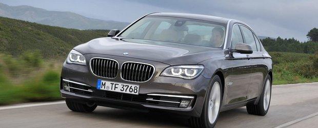Noul BMW Seria 7 facelift in primul film de prezentare