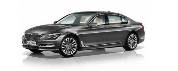 Noul BMW Seria 7: Primele informatii oficiale au ajuns pe internet