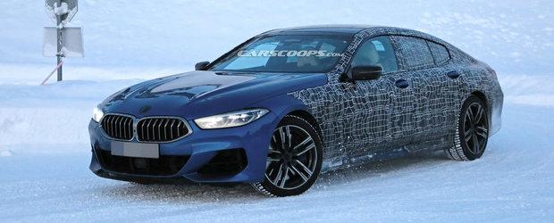 Noul BMW Seria 8 Gran Coupe, in cele mai clare imagini de pana acum. Cum arata coupe-ul bavarez in patru portiere