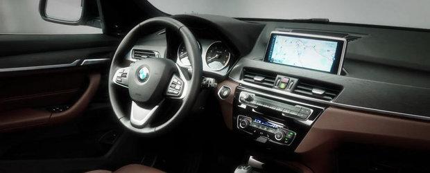 Noul BMW X1 revine in primele imagini reale