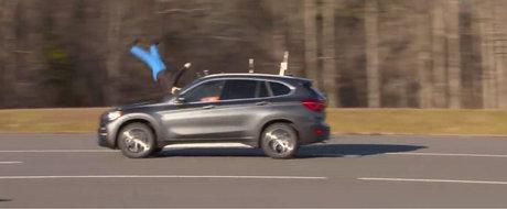 Noul BMW X1 s-a facut de ras la testele de siguranta. Masina bavareza nu a mai primit nicio nota