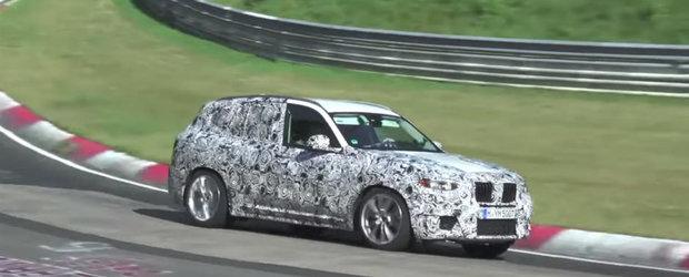 Noul BMW X3 M ne arata de ce sunt in stare cei aproximativ 500 de cai putere. Sunetul este pe masura