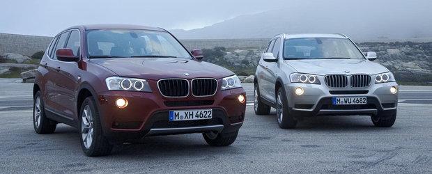 Noul BMW X3 oficial dezvaluit!