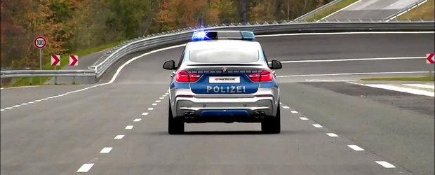 Noul BMW X4 imbraca uniforma de politie, multumita AC Schnitzer