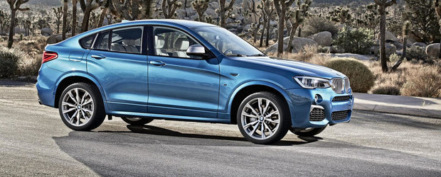 Noul BMW X4 M40i debuteaza oficial, ofera 360 CP si 465 Nm