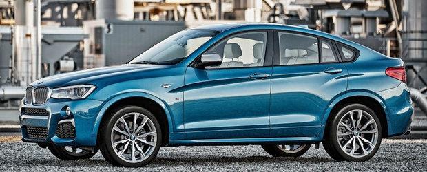 Noul BMW X4 M40i ni se arata inaintea debutului sau oficial