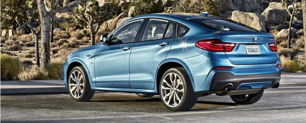 Noul BMW X4 M40i ofera 360 CP si 465 Nm in schimbul a 66.600 euro