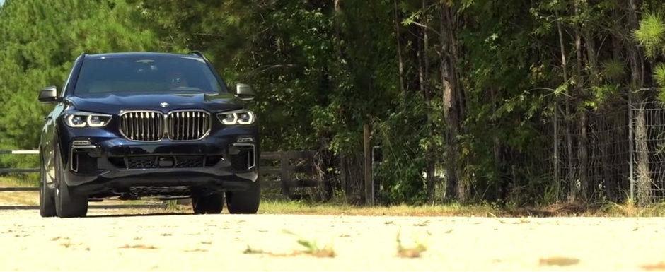 Noul BMW X5 are motor diesel cu patru turbine si tasneste ca din pusca. VIDEO ca sa te convingi