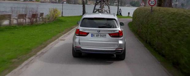 Noul BMW X5 eDrive demonstreaza ca si SUV-urile pot fi eficiente