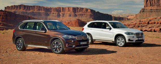 Noul BMW X5 intra in productia de serie