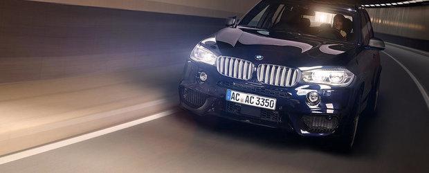 Noul BMW X5 ofera acum pana la 525 cai putere, multumita AC Schnitzer