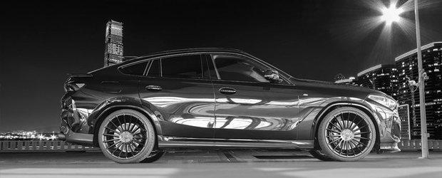 Noul BMW X6, acum si cu bodykit de la HAMANN. Cum arata SUV-ul german