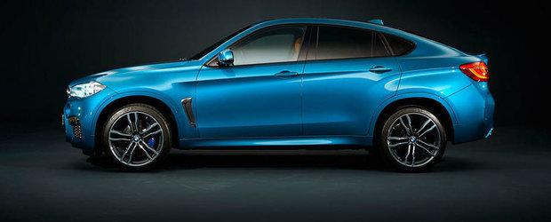Noul BMW X6 M e, oficial, cel mai rapid SUV de la Nurburgring